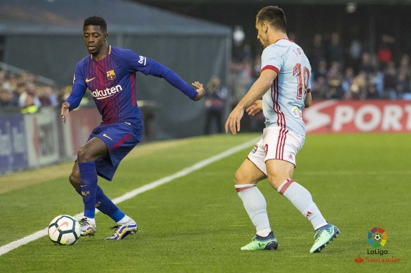 10-Man Barca Survive Celta Vigo Scare To Stay Unbeaten