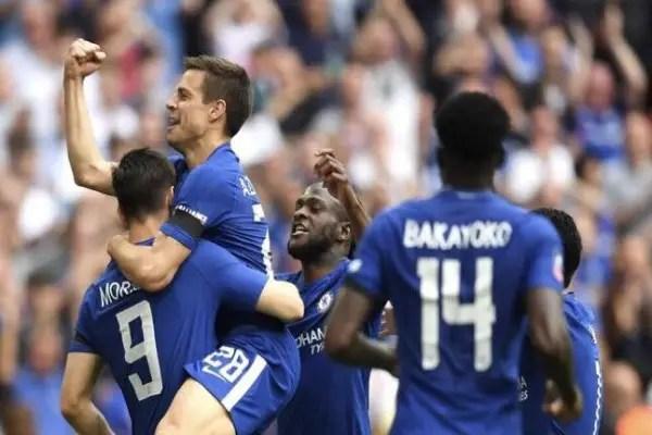 "Moses Hails Chelsea Fans After ""Tough"" FA Cup Semis Win Vs Southampton"
