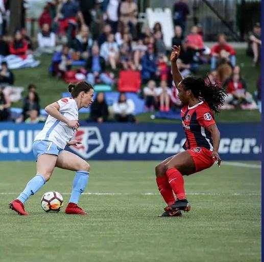 Ordega Scores In 3rd Consecutive Game As Washington Spirit Draw At Home