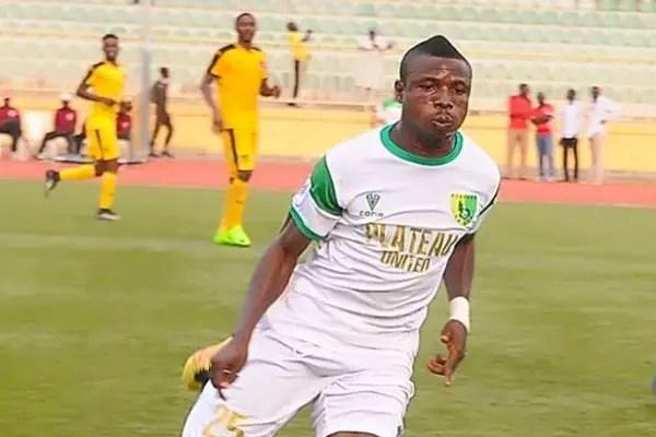 CAFCC: Plateau United Forward Obaje out of USM Clash Over Injury; Odah, Ayagwa Return