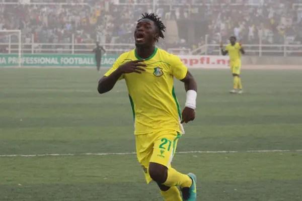 Kano Pillars' 12-Goal Hero Lokosa Eyes Udoh's NPFL Goals Record
