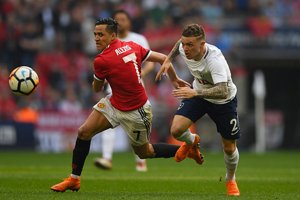 Emirates FA Cup: Sanchez, Herrera On Target Vs Spurs As United Reach Final