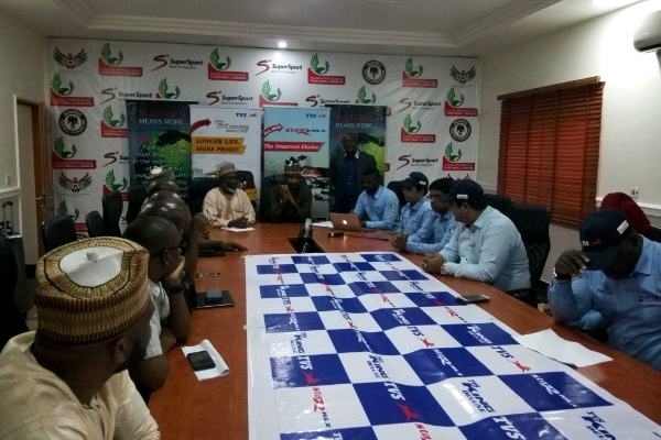 NFF Unveil Simba As Official Motorcycle Of Super Eagles
