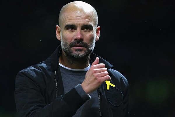 """Guardiola Rules Aguero, Stones Out; Wary Of """"Fantastic"""" Spurs"""