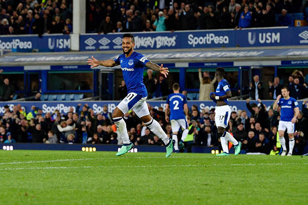 Walcott Ends Goal Drought As Everton Edge Out Newcastle