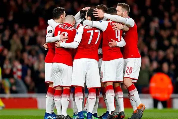 Europa: Musa, Iwobi In Action As Arsenal Spank CSKA Moscow; Atletico, Lazio Win