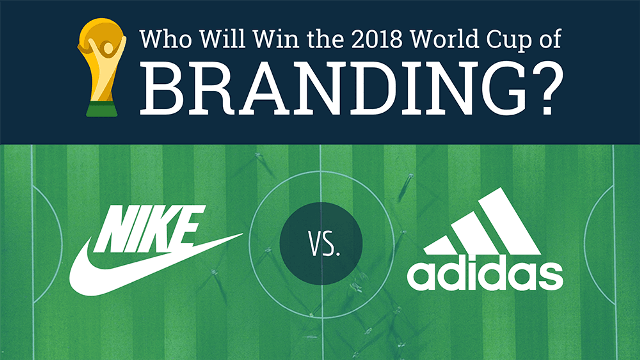 Nike vs. Adidas: Which Brand Will Dominate The 2018 World Cup? [Infographic]