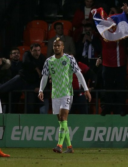 Ekong Wins Man Of The Match Award Vs Dr Congo