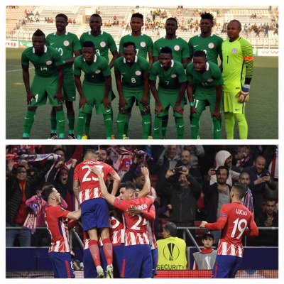Atletico Madrid To Face Home Eagles In Uyo After Europa Final