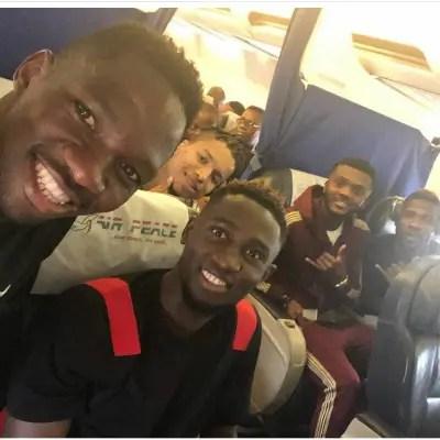 Iheanacho, Ebuehi, Ndidi, Omeruo Off To Super Eagles Camp