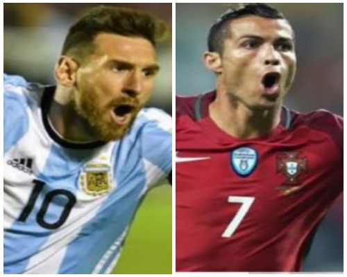 Mourinho: Argentina With Messi, Portugal With Ronaldo Are Favourites To Win 2018 World Cup