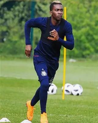 Onyekuru Completes Recovery, Makes Bench In Anderlecht Win