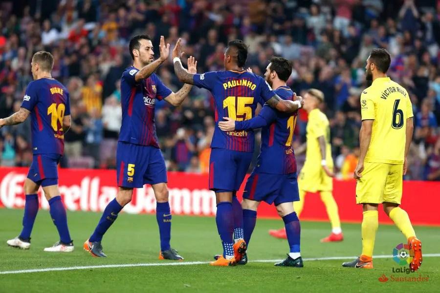 Messi Lead Invincible Barcelona's Destruction Of Villarreal