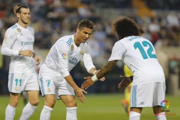 Ronaldo Scores, Zidane's Son Debuts As Real Fail To Beat Villarreal