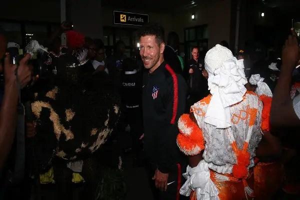 Simeone: Super Eagles, Croatia, Iceland Can't Stop Messi In Russia