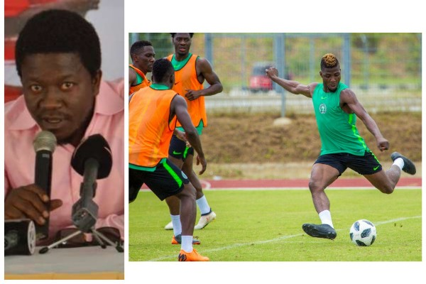 Ezeji: Super Eagles Should Take It Easy, Avoid Injuries Vs DR Congo