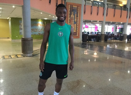 """Mikel """"Happy"""" To Join Super Eagles Camp In Uyo"""