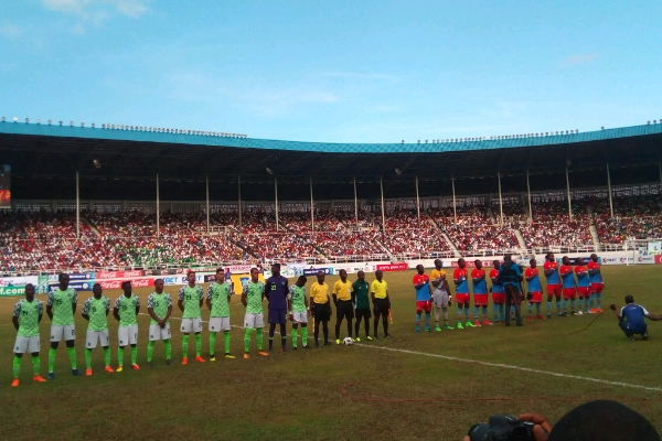 ABOVE AVERAGE: How Super Eagles Rated Vs DR Congo
