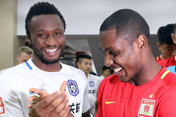 Changchun Yatai Fans Vow To Cheer Ighalo, Super Eagles In Russia
