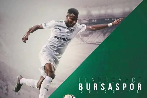 Abdullahi Hails Bursaspor's Big Fighting Spirit Despite Defeat At Fenerbahce