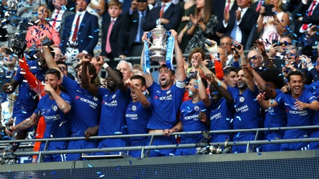 Okocha: Moses' Chelsea Deserved Their Emirates FA Cup Title