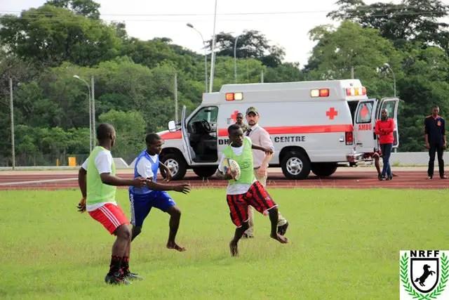 Abuja Barracks School Children Get Into Rugby Sports Clinic 2018
