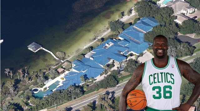 Shaquille O'Neal Puts Big Florida House For Sale