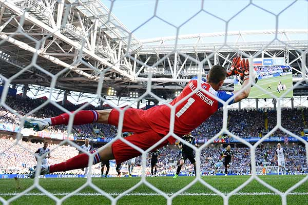 Messi Misses Penalty As Underdogs Iceland Hold Argentina