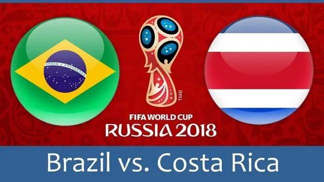 World Cup: Brazil Vs Costa Rica Betting Tips
