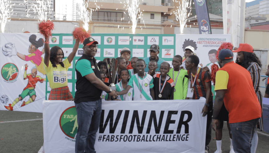 Alimosho School Wins Fab 5 Challenge As Kids Impress Barca Director