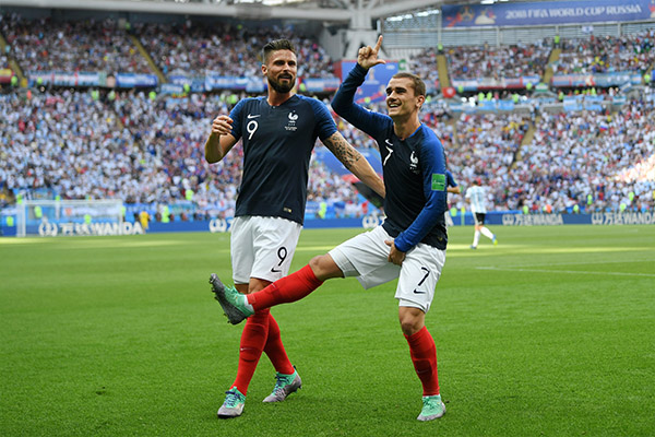 France Coach Deschamps Proud Of Team After Tough Win Vs Argentina
