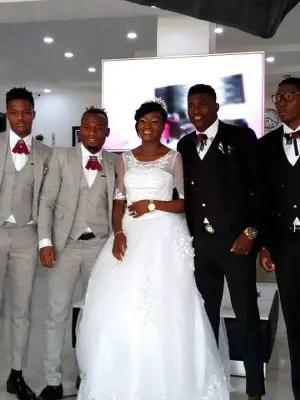 Ex-Golden Eaglet Taiwo Awoniyi, 20, Gets Married