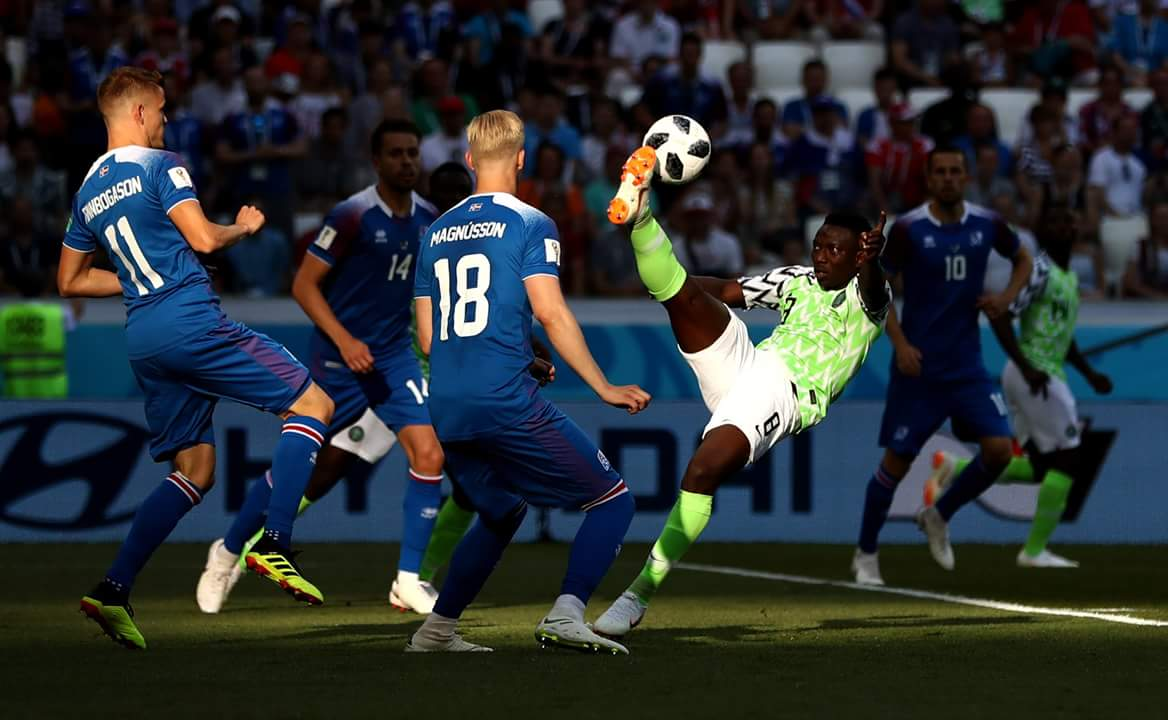 Stoke City Hail New Signing Etebo After Super Eagles Victory Over Iceland