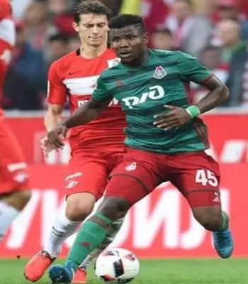 Nigerian Striker Henty Joins Osijek On Two-year Deal