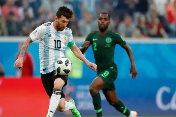 Messi Voted MOTM In Argentina Win Vs Nigeria