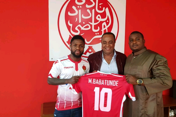Babatunde Signs Three-Year Deal With Wydad Casablanca