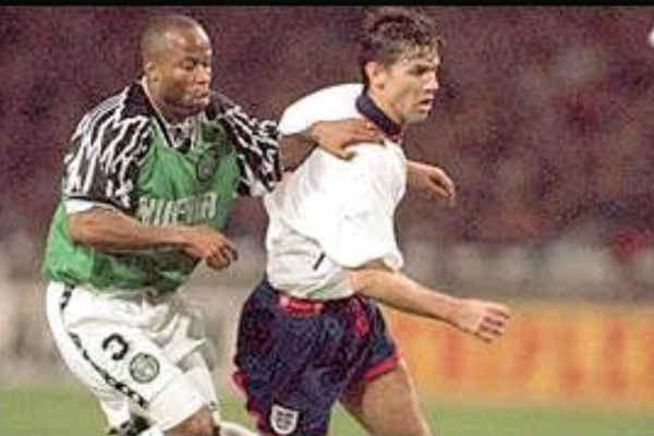Adepoju: How Super Eagles Nearly Beat England At Wembley In 1994