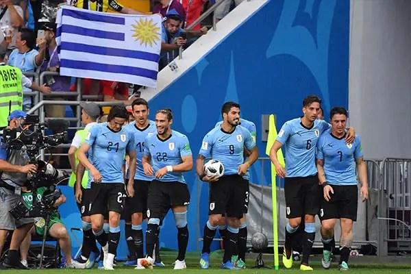 Suarez Marks Uruguay Century With Winner As Saudi Arabia, Egypt Crash Out