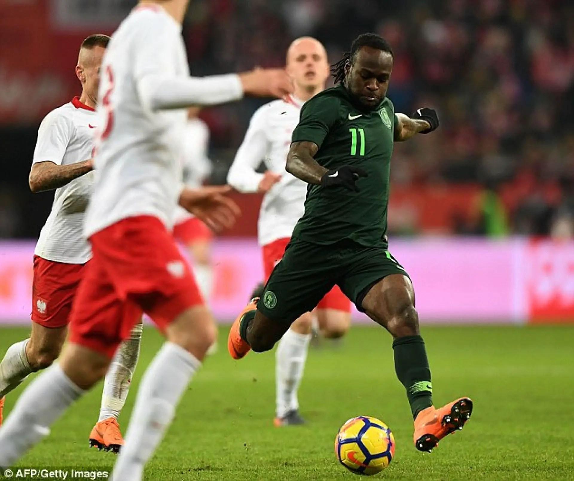 Moses Recalls Super Eagles Massacre Of Cameroon, Promises World Cup Success