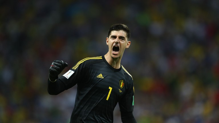 Courtois Happy To Shame Critics With Brilliant Showing Vs Brazil