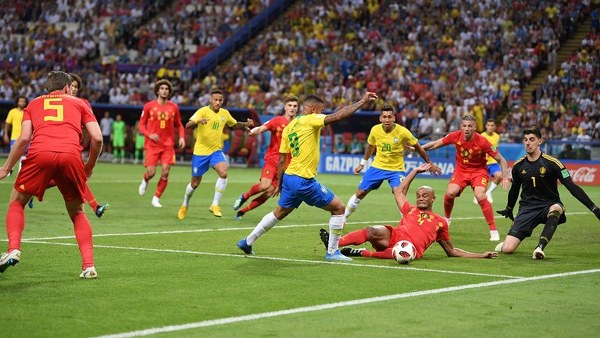 Fernandinho Own Goal, De Bruyne Cracker Shoot Down Galant Brazil As Belgium Grab Berth To Face France In Semi-Finals