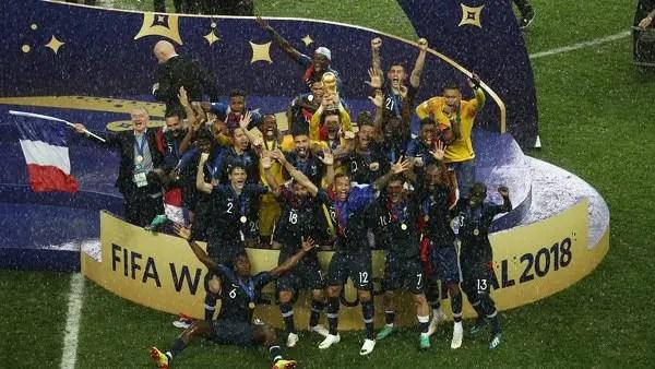 Allez Allez Bleus! France Edge Gallant Croatia To Win Second World Cup Title
