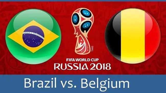 World Cup 2018: Brazil vs Belgium Betting Tips