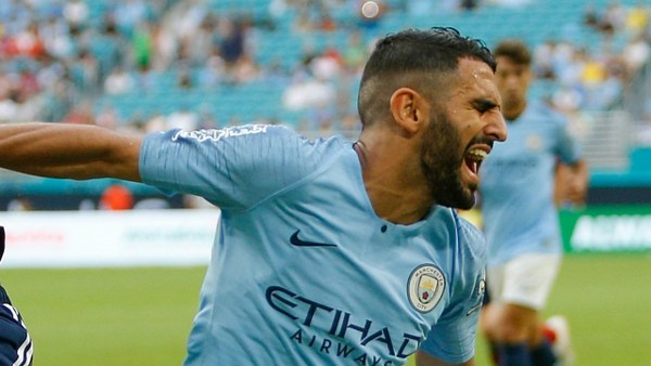 Manchester City Declare Mahrez Fit For Chelsea Clash After Injury Scare