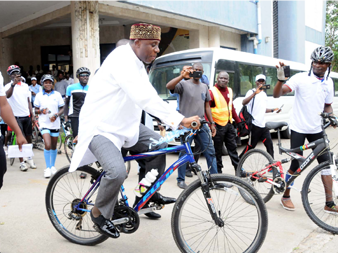 Amaechi Confirms Participation In Celebrity Race Of Cycling Lagos 2018