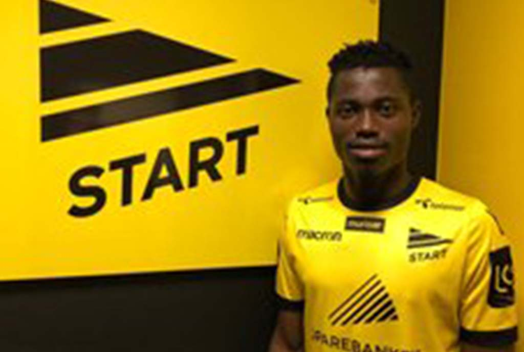 Akinyemi Finally Joins Norwegian Club IK Start, Says 'I Hope To Score Many Goals Here'