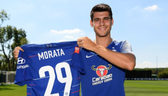 Morata Commemorates Twin Sons' Birthday With New Jersey No. 29 At Chelsea