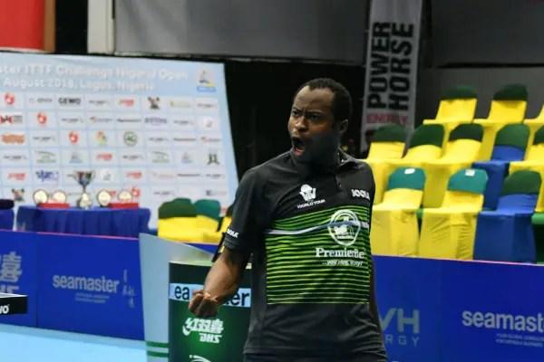 Aruna Wins First African Men's Title