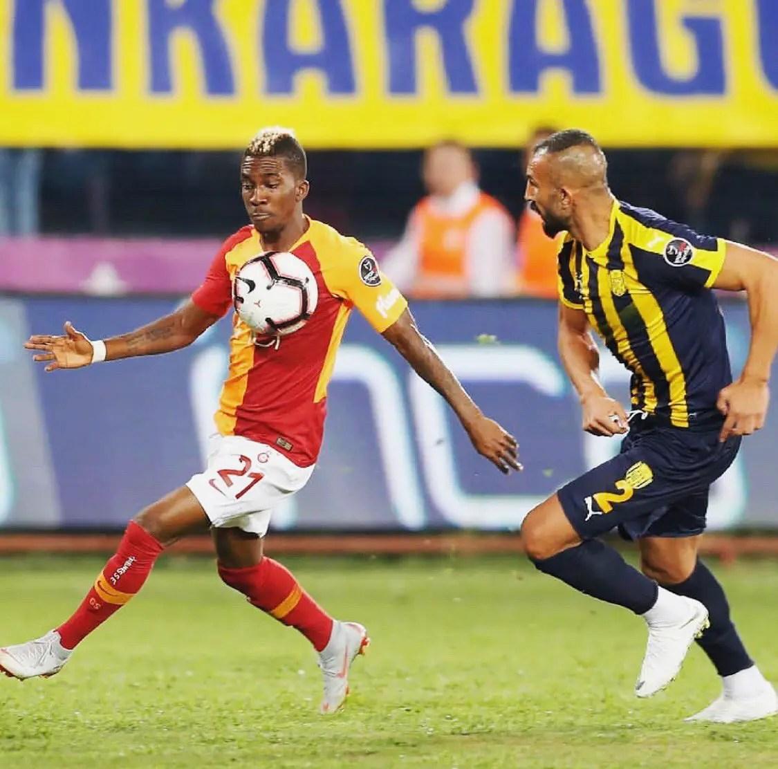 Onyekuru Thrilled To See Galatasaray Begin New Season With Away Win
