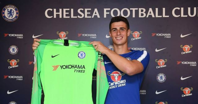 Kepa Happy With Keeper Recognition